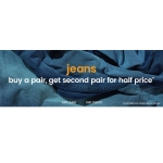 Burton: buy a pair of jeans, get second pair for half price