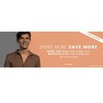 Burton: spend more, save more on menswear