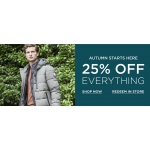 Burton: 25% off menswear