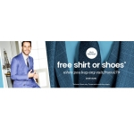 Burton: free off shirt or shoes when you buy any suit from £79