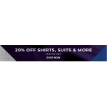 Burton: 20% off shirts, suits & more