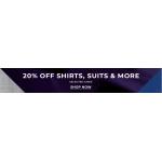 Burton: 20% off shirts, suits & more