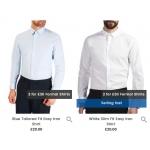 Burton: 2 formal shirts for £30