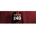 Burton: Suits Sale from £49