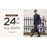 Burton: 24% off all suits