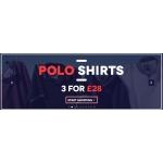 Charles Wilson: 3 for £28 on polo shirts