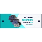 Charles Wilson: 2 packs for £30 on boxer shorts