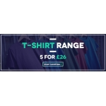 Charles Wilson: 5 t-shirts for £26