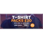 Charles Wilson: t-shirt packs for £20
