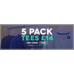 Charles Wilson: 5 pack tees for £14