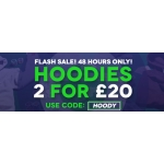 Charles Wilson: 2 hoodies for £20