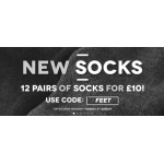 Charles Wilson: 12 pairs of socks for £10