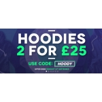 Charles Wilson: 2 hoodies for £25