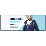 Charles Wilson: 2 hoodies for £35