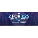 Charles Wilson: two casual shirts for £25