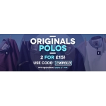 Charles Wilson: 2 for £15 on polos