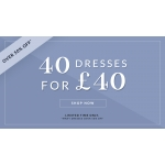 Chi Chi: 40 dresses for £40, many dresses over 50% off