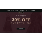 Chi Chi: 30% off ladies fashion