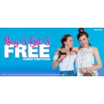 Claire's: Buy 3 get 3 free off jewellery, hair, accessories