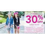 Claire's: 30% off across the site