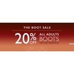 Clarks: Sale 20% off all adults boots