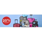 Clas Ohlson: 20% off travel accessories and suit cases