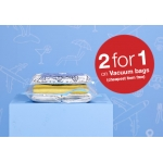 Clas Ohlson: vacum bags 2 for 1