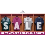 Clickgolf: Sale up to 40% off Adidas Golf Shirts