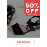Cloggs: Sale up to 50% off sandals