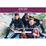 Crew Clothing: 20% off coats, jackets & footwear
