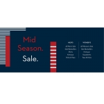 Crew Clothing: Mid Season Sale 20% off women's and men's fashion