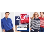 Crew Clothing: 20% off knitwear