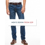 Crew Clothing: men's denim from £29