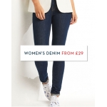 Crew Clothing: women's denim from £29