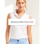 Crew Clothing: polos and tees from £20