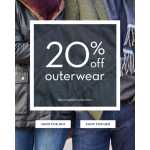 Crew Clothing: 20% off outerwear