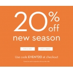 Crew Clothing: 20% off new season clothing