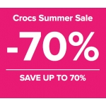 Crocs: Summer Sale up to 70% off shoes, sandals and clogs