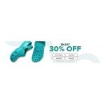 Crocs: 30% off shoes, sandals and clogs