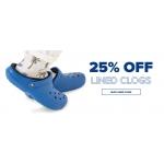 Crocs: 25% off lined clogs