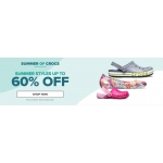 Crocs: up to 60% off shoes, sandals and clogs
