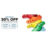 Crocs: 30% off Crocs shoes