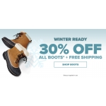 Crocs: 30% off all boots + free shipping