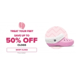 Crocs: Sale up to 50% off clogs