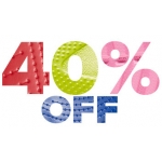 Crocs: 40% off when you buy two pairs or more