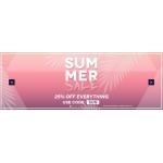 Charles Wilson: Summer Sale 25% off menswear