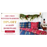 George at Asda: 20%  off on selected homeware