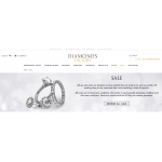 Diamonds Factory: Sale up to 45% off jewellery collections