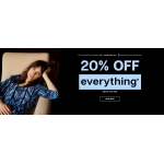 Dashfashion: 20% off clothing and accessories