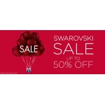 David Shuttle: Sale up to 50% off Swarovski jewellery